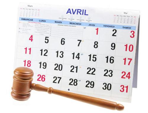 Huissier 75 et Huissiers 91 : Nouveaux délais légaux «Covid 19»